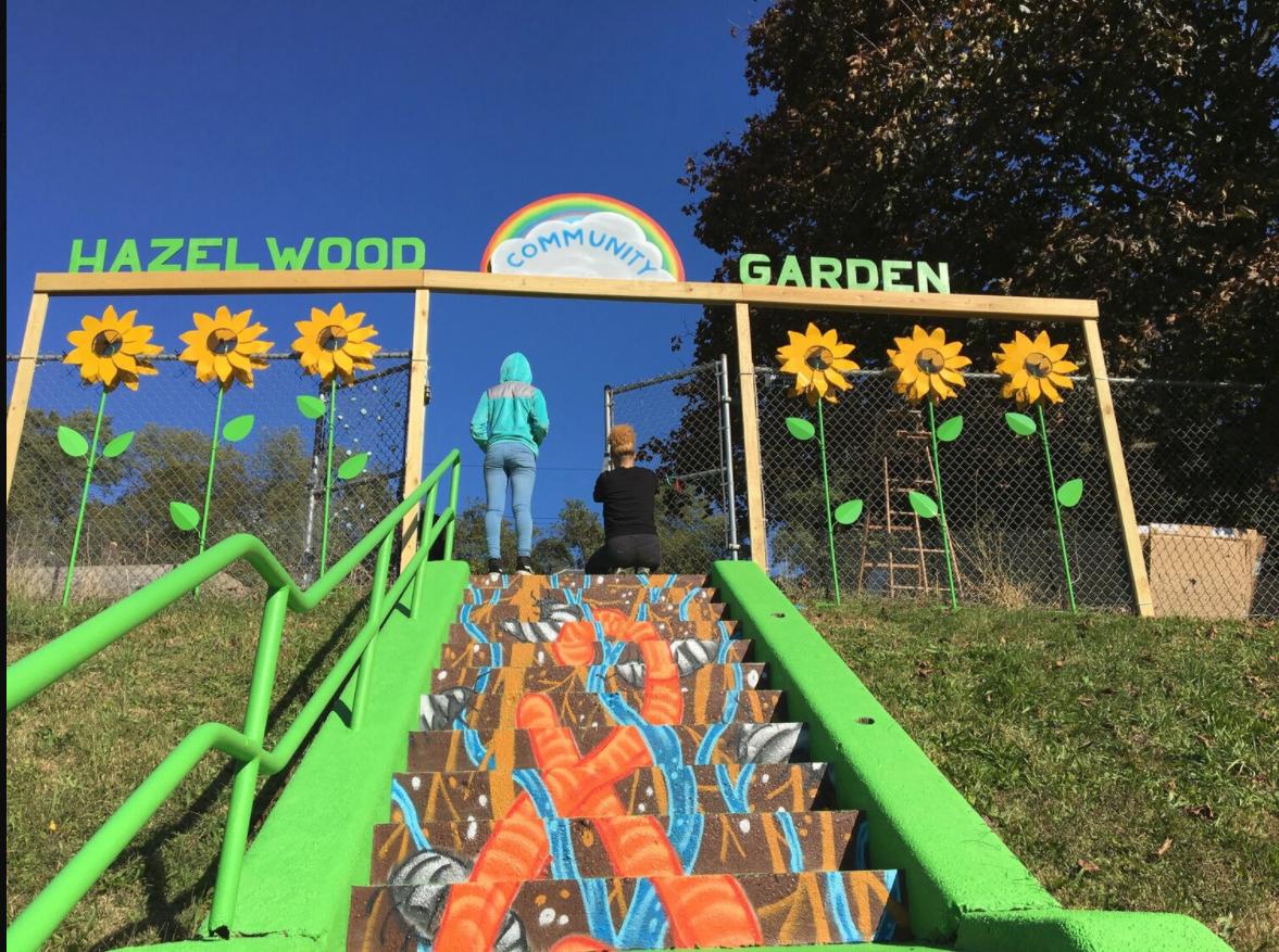Public Art: Hazelwood Community Garden
